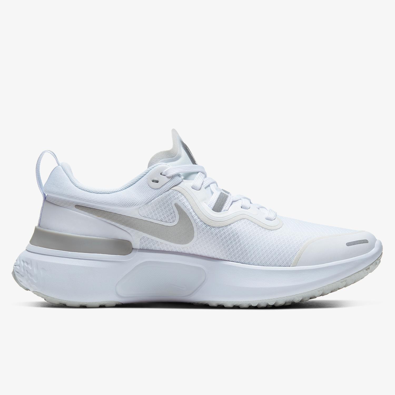 Nike React Miler - Blancas - Zapatillas Running Mujer