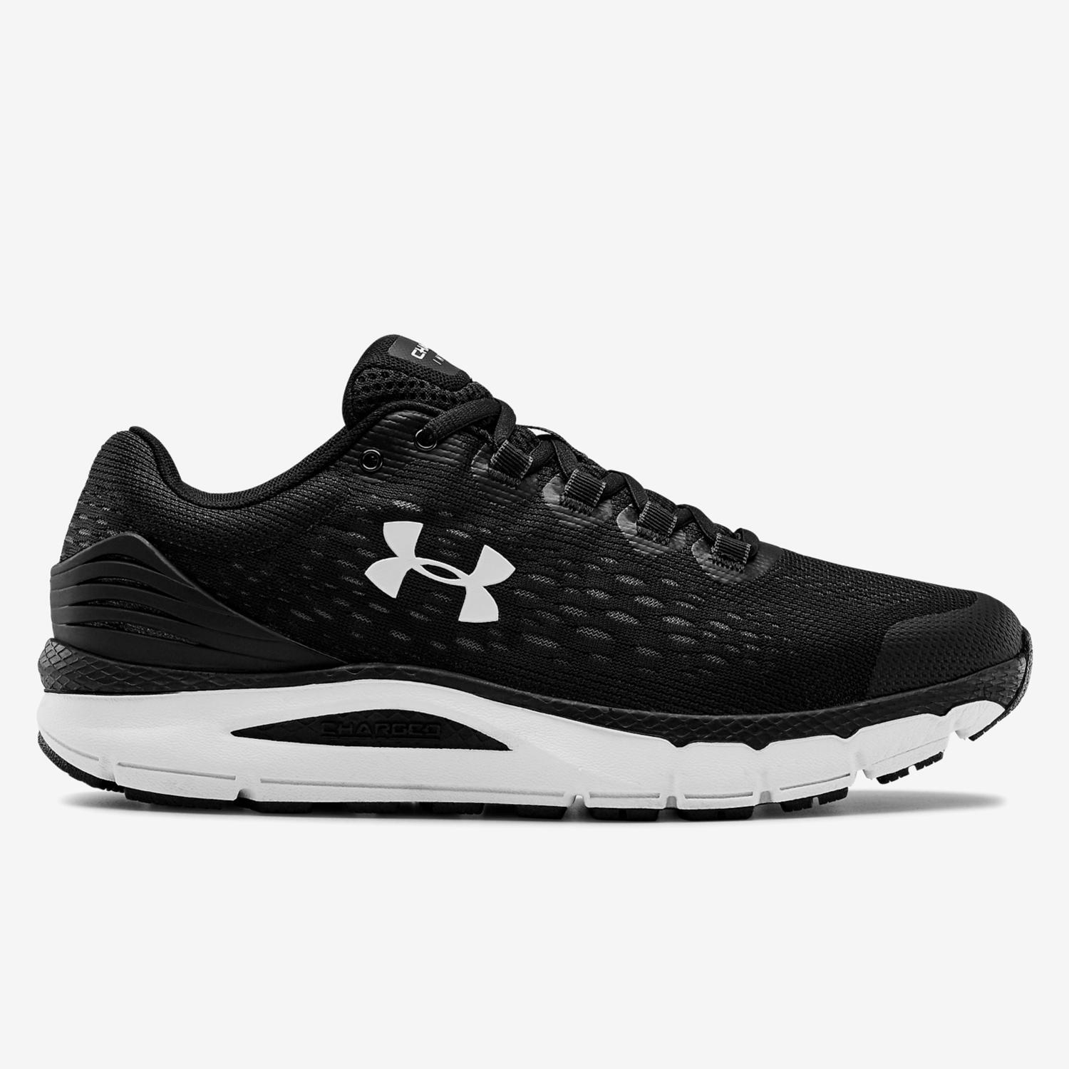 Under Armour Charged Intake 4 - Negro - Zapatillas Running Hombre