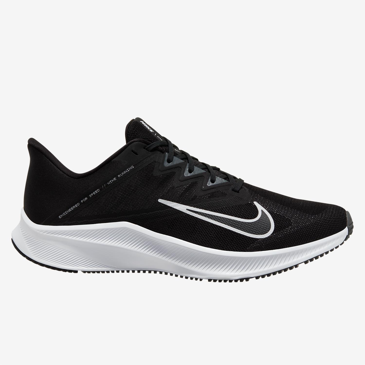 Nike Quest 3 - Negro - Zapatillas Running Hombre