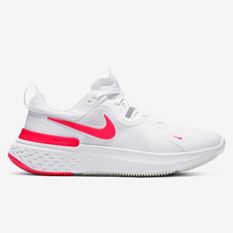 Nike React Miler - Blanco - Zapatillas Running Mujer