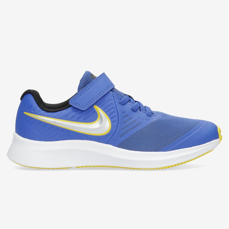 Nike Star Runner 2 - Azul - Zapatillas Running Niño