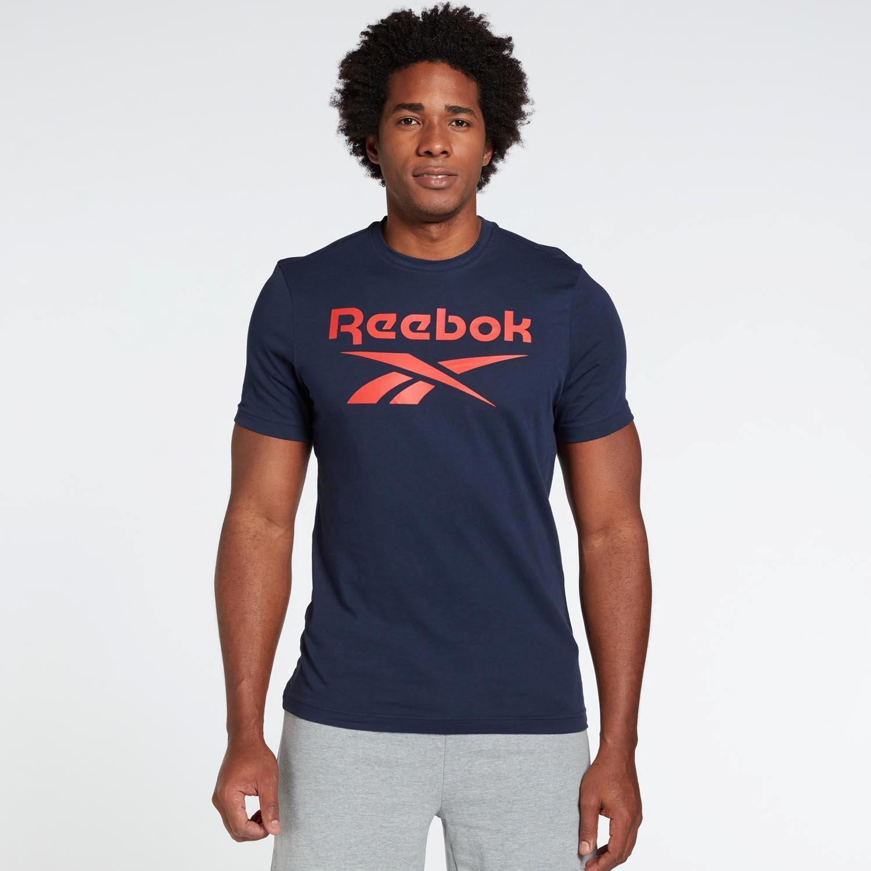 Reebok Identity - Marino - Camiseta Hombre