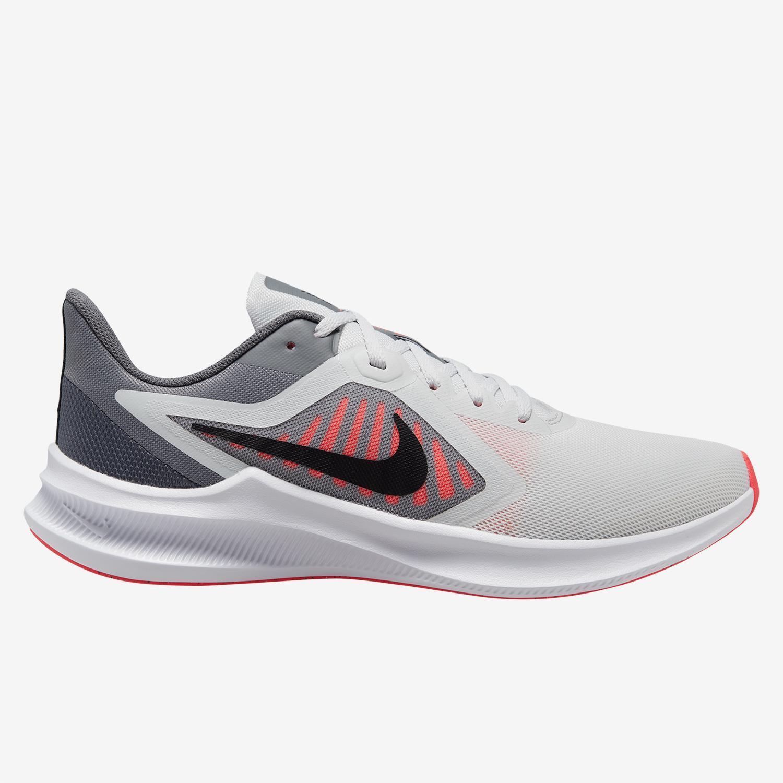 Nike Downshifter 10 - Gris - Zapatillas Running Hombre