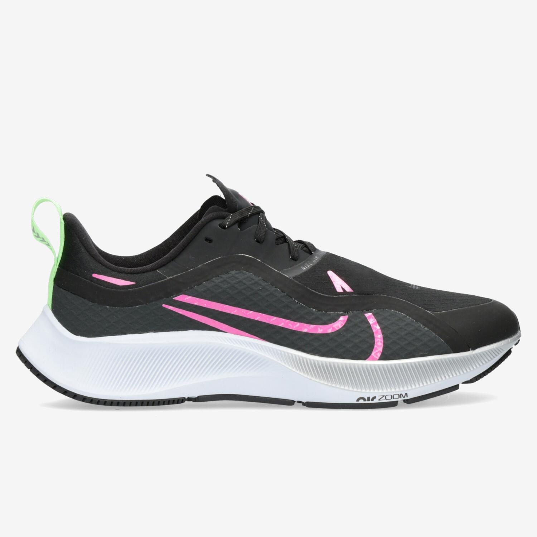 Nike Air Zoom Pegasus 37 Shield - Negro Zapatillas Running Hombre