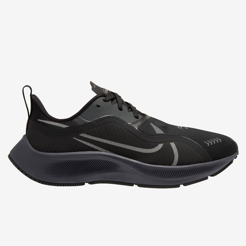 Nike Air Zoom Pegasus 37 Shield - Negro - Zapatillas Running Mujer