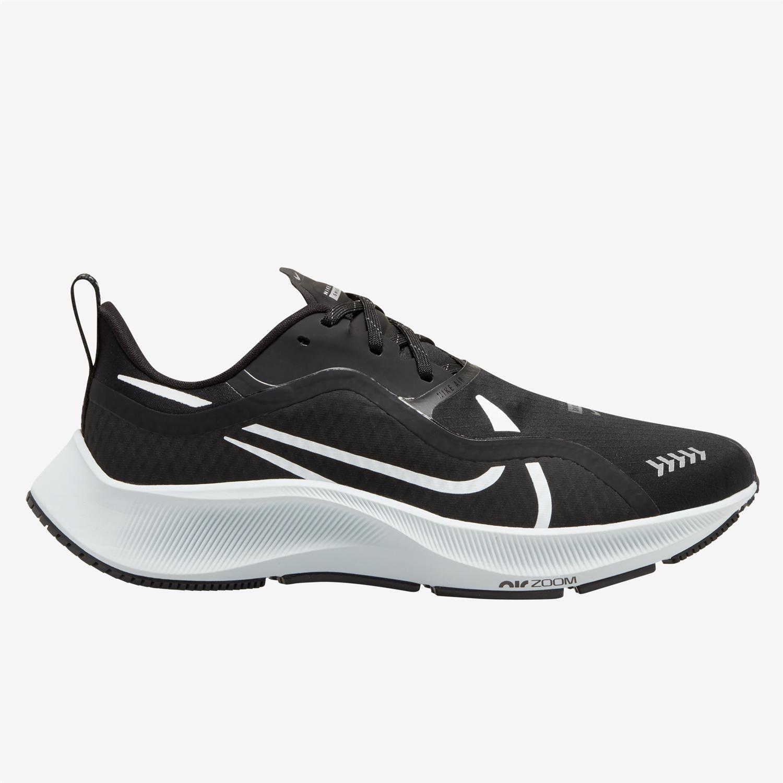 Nike Air Zoom Pegasus 37 Shield Negro - Zapatillas Running Mujer