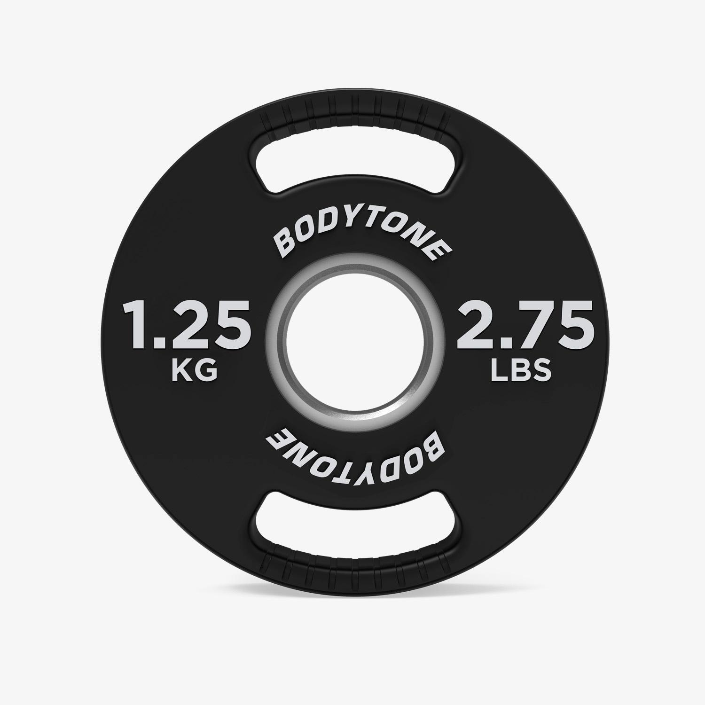 Disco 1,25 Kg Bodytone - Negro - Pesas talla T.U.