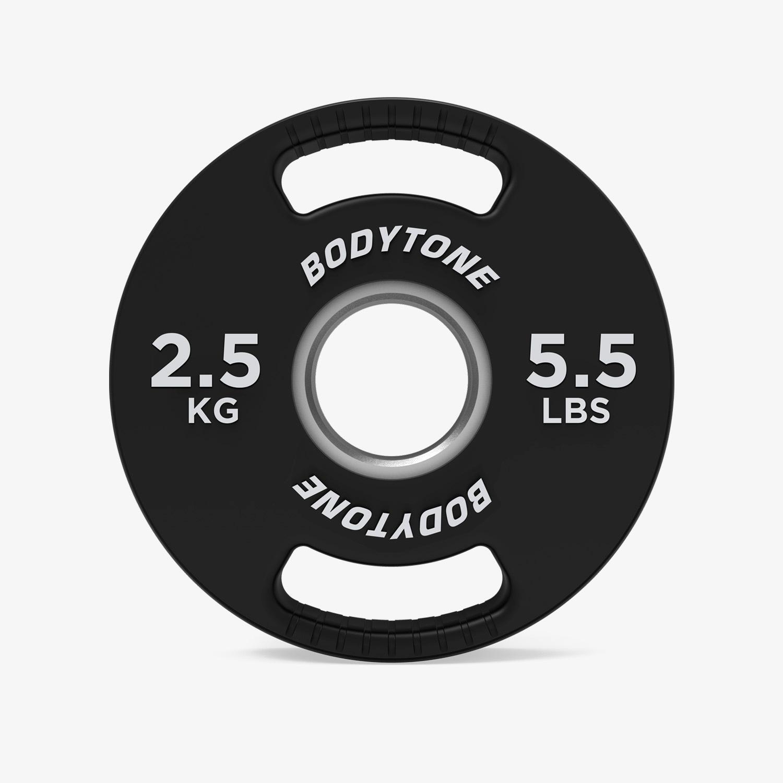 Disco 2,5 Kg Bodytone - Negro - Pesas talla T.U.