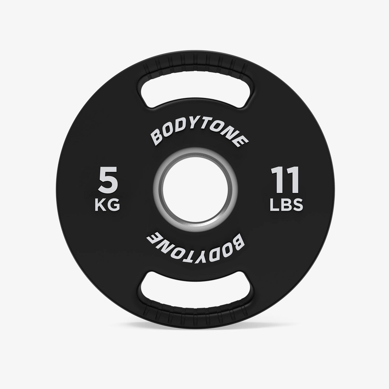 Disco 5 Kg Bodytone - Negro - Pesas talla T.U.