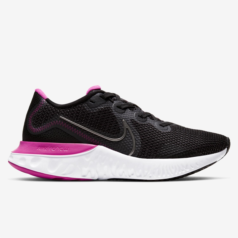 Nike Renew Run -Negro -Zapatillas Running Mujer