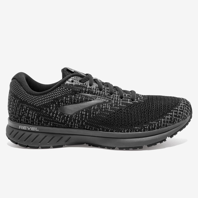 Brooks Revel 3 - Negro - Zapatillas Running Hombre