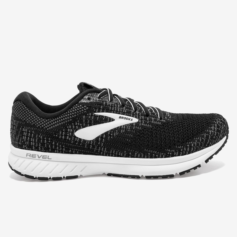 Brooks Revel 3 - Negro - Zapatillas Running Mujer