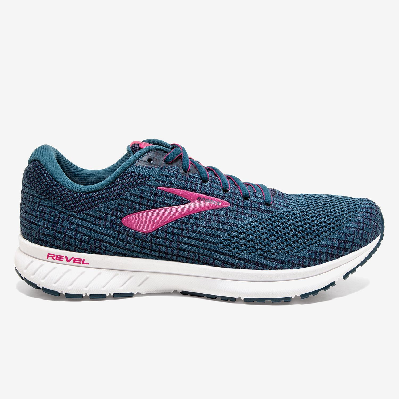 Brooks Revel 3 - Marino - Zapatillas Running Mujer