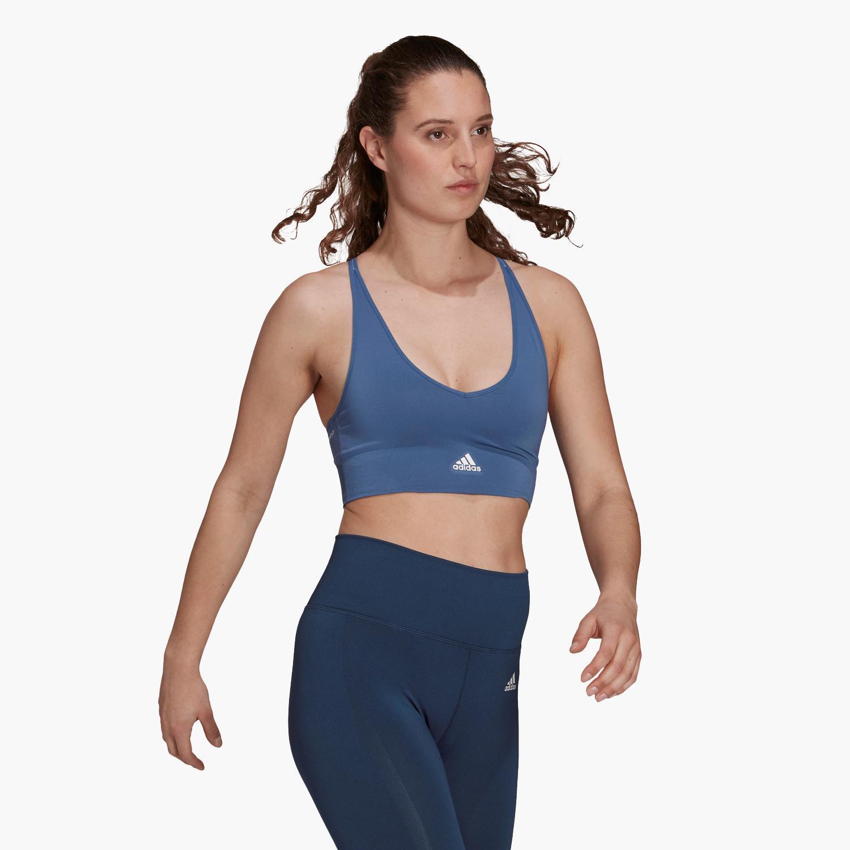 Sujetador Deportivo adidas - Azul - Top Fitness Mujer