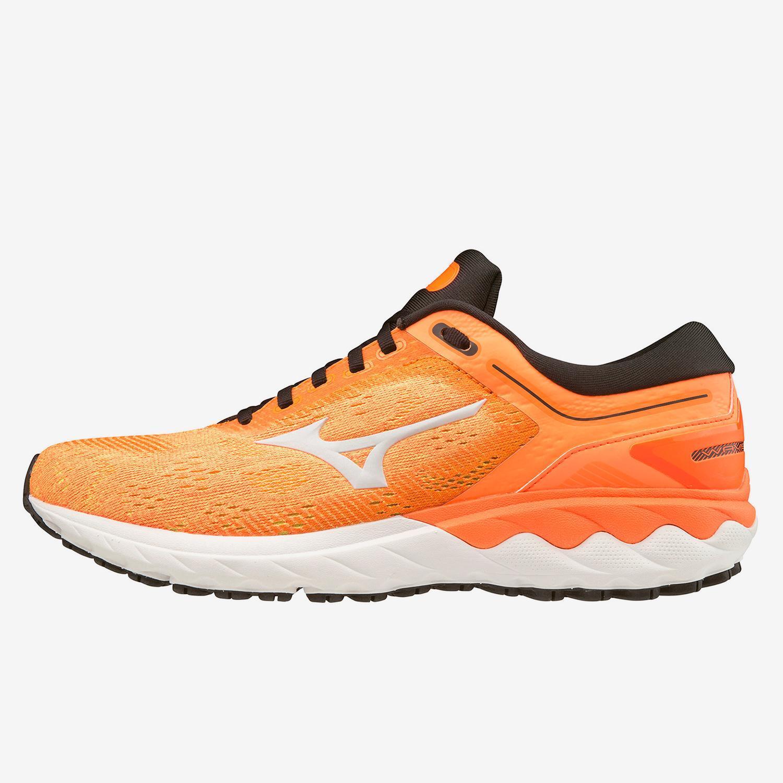 Mizuno Wave Skyrise Naranja - Zapatillas Running Hombre