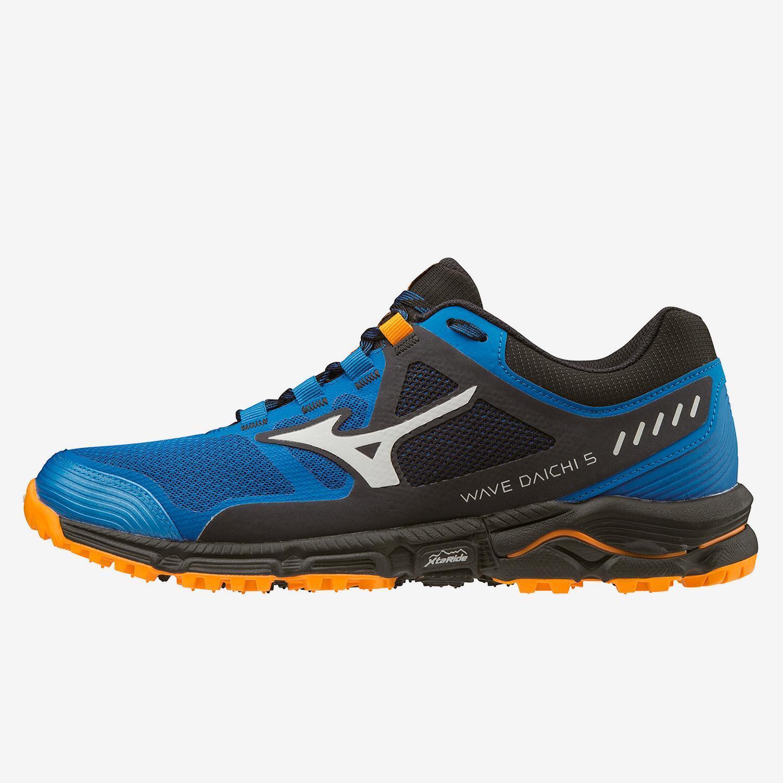 Mizuno Wave Daichi 5 Azul - Zapatillas Trail Hombre