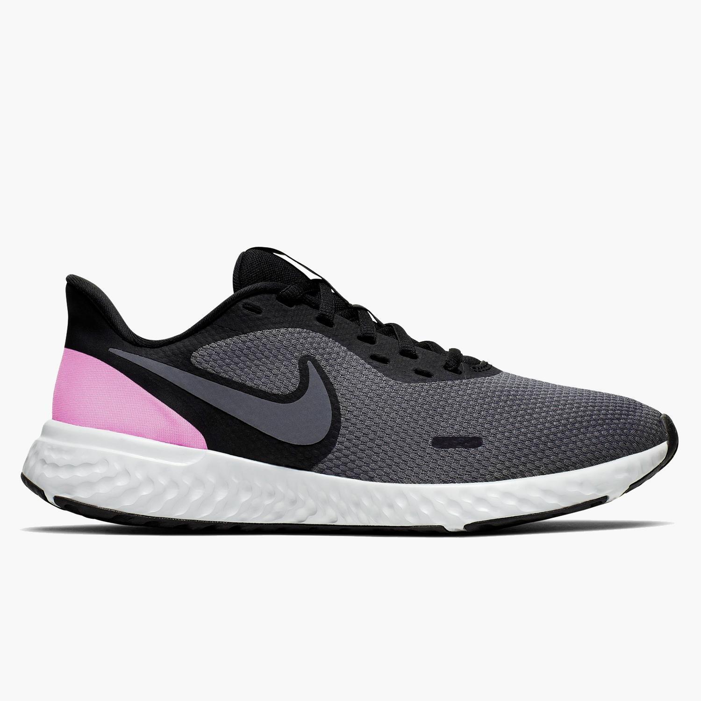 Nike Revolution 5 - Gris - Zapatillas Running Mujer