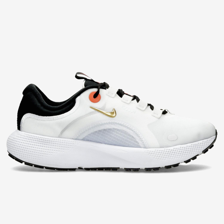 Nike React Escape - Blanco - Zapatillas Running Mujer