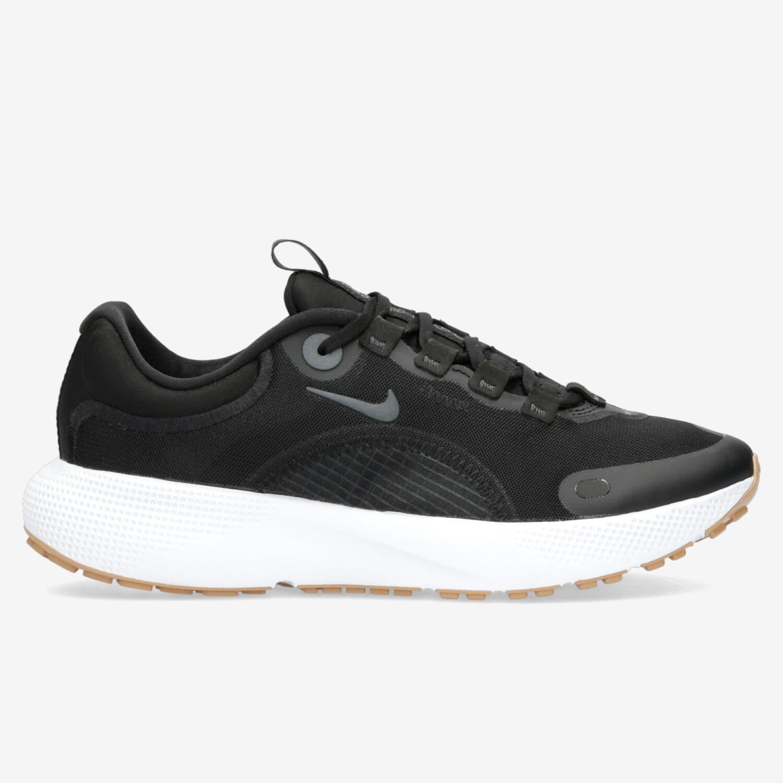 Nike React Escape - Negras - Zapatillas Running Mujer