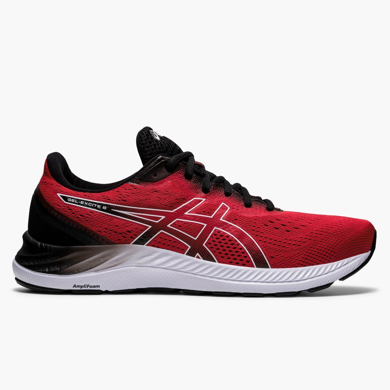 Asics Gel Excite 8 - Rojo - Zapatillas Running Hombre