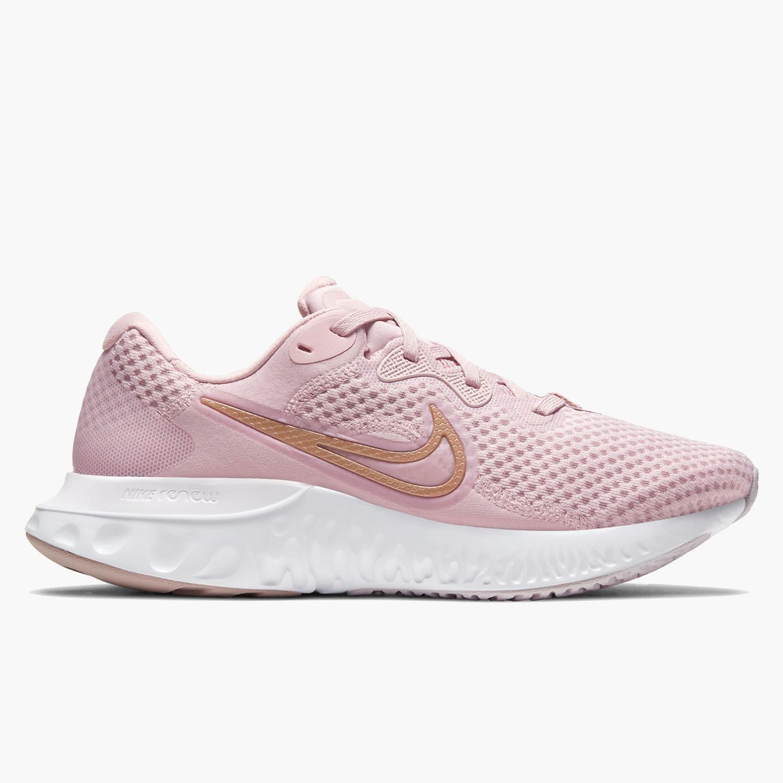 Nike Renew Run 2 - Rosa - Zapatillas Running Mujer