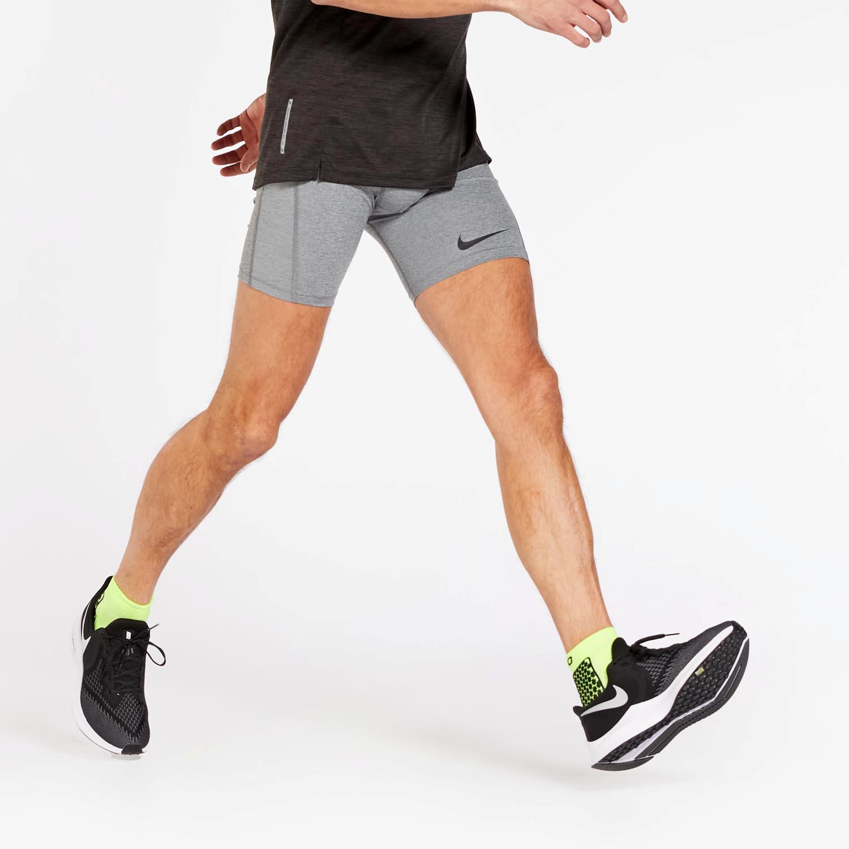 Mallas Running Nike - Gris - Mallas Hombre