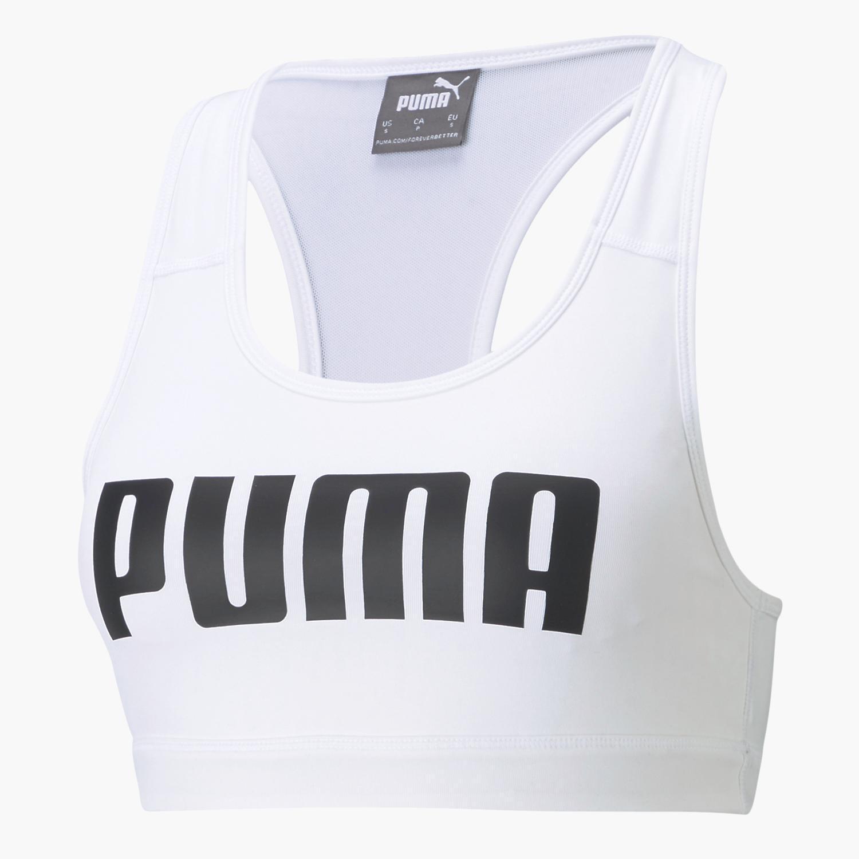 Puma 4 Keeps - Blanco - Sujetador Deportivo