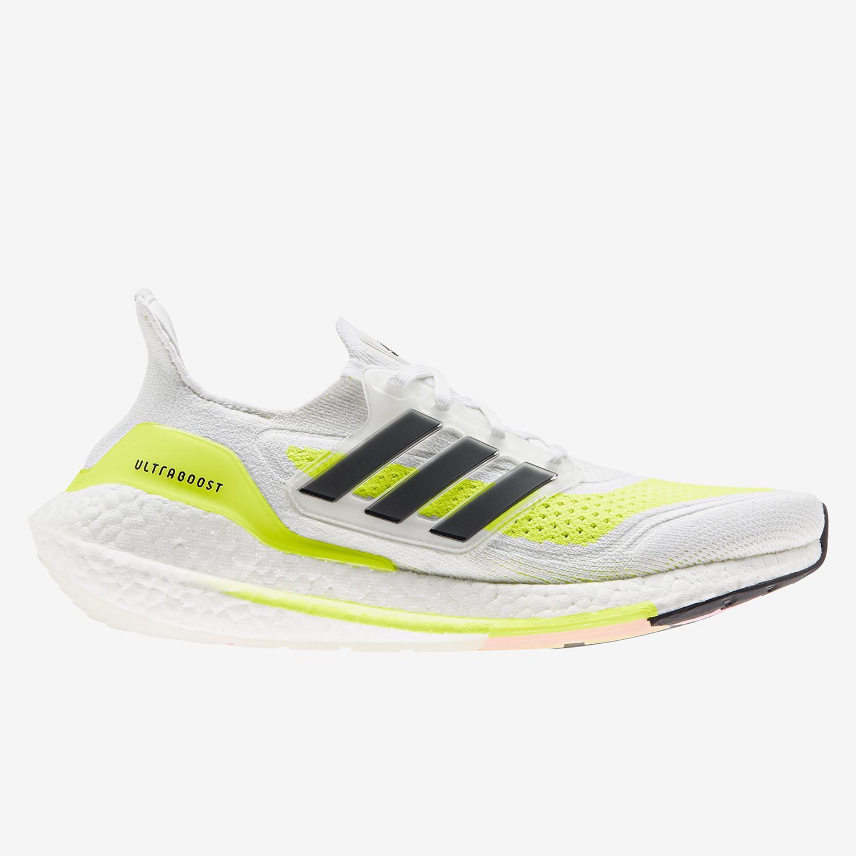 adidas Ultraboost 21 - Blanco - Zapatillas Running Mujer