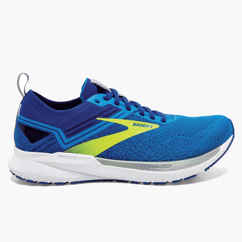 Brooks Ricochet 3 - Azul - Zapatillas Running Hombre