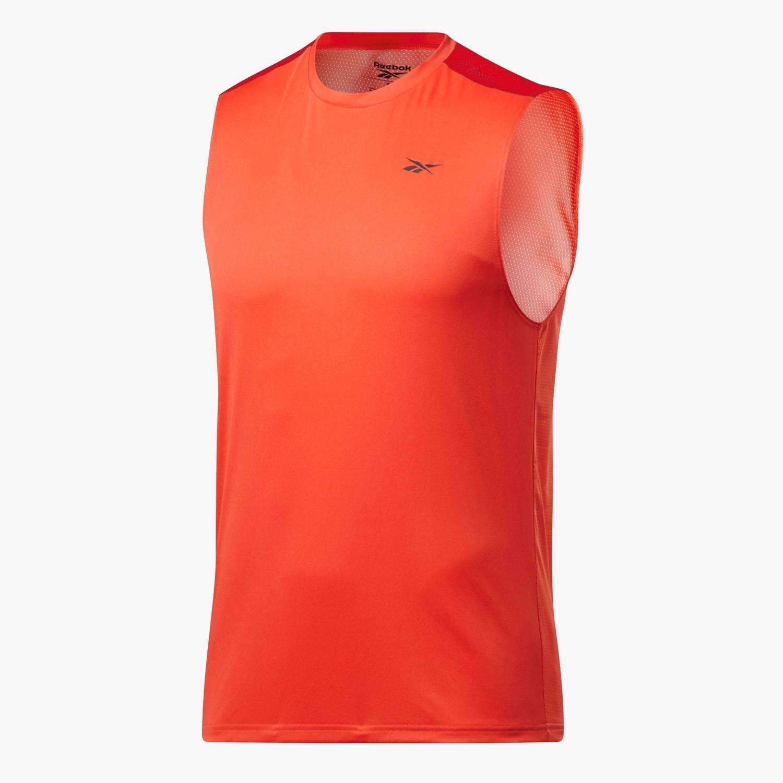 Reebok Workout Ready - Naranjas - Camiseta Running Hombre