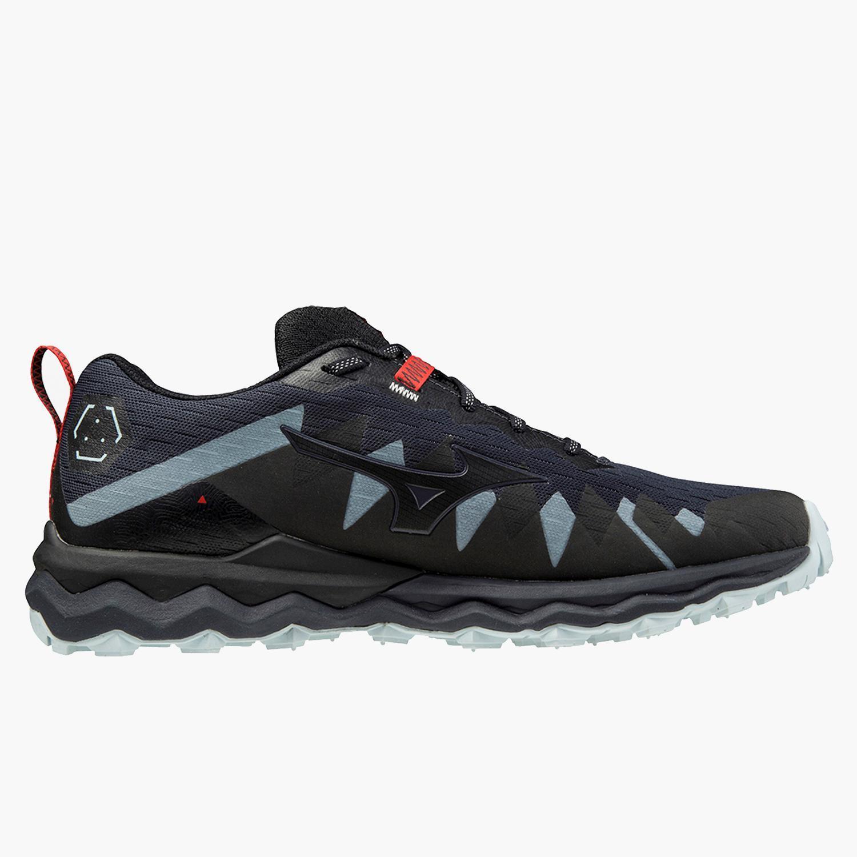 Mizuno Wave Daichi 5 - Negro - Zapatillas Trail Hombre