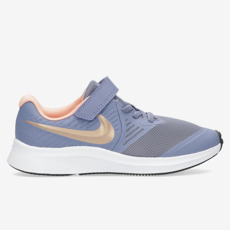 Nike Star Runner 2 - Marino - Zapatillas Running Niña