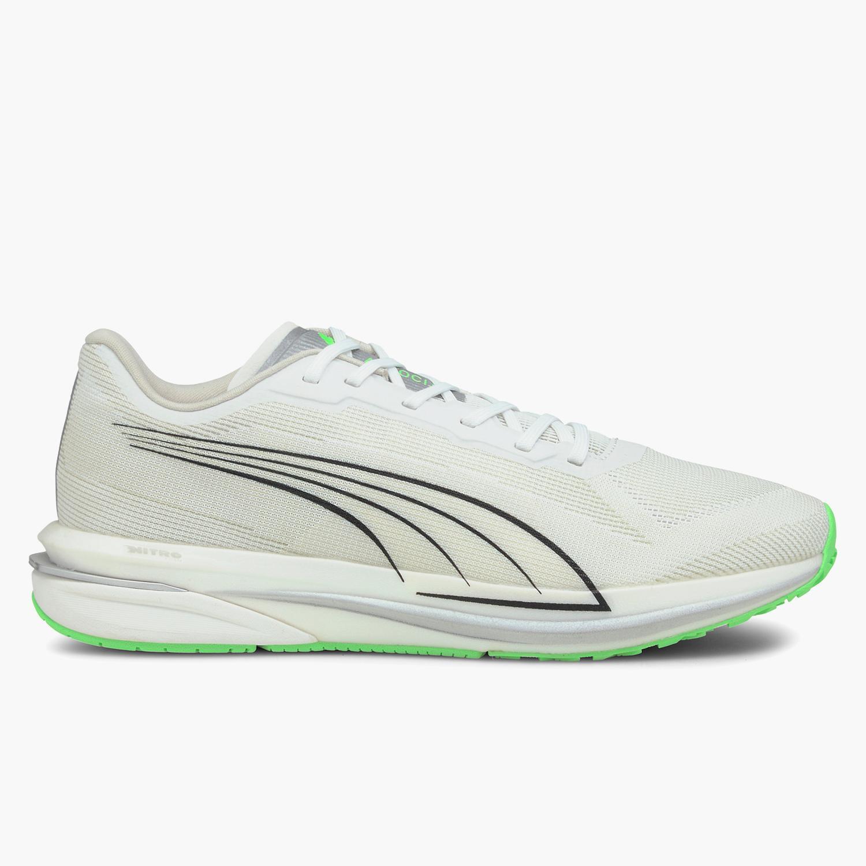 Puma Velocity Nitro COOLadapt - Blancas - Zapatillas Running Hombre