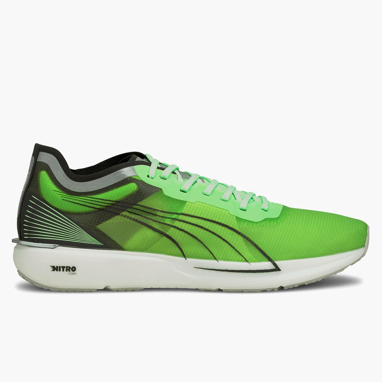 Puma Liberate Nitro COOLadapt - Verdes - Zapatillas Running Hombre