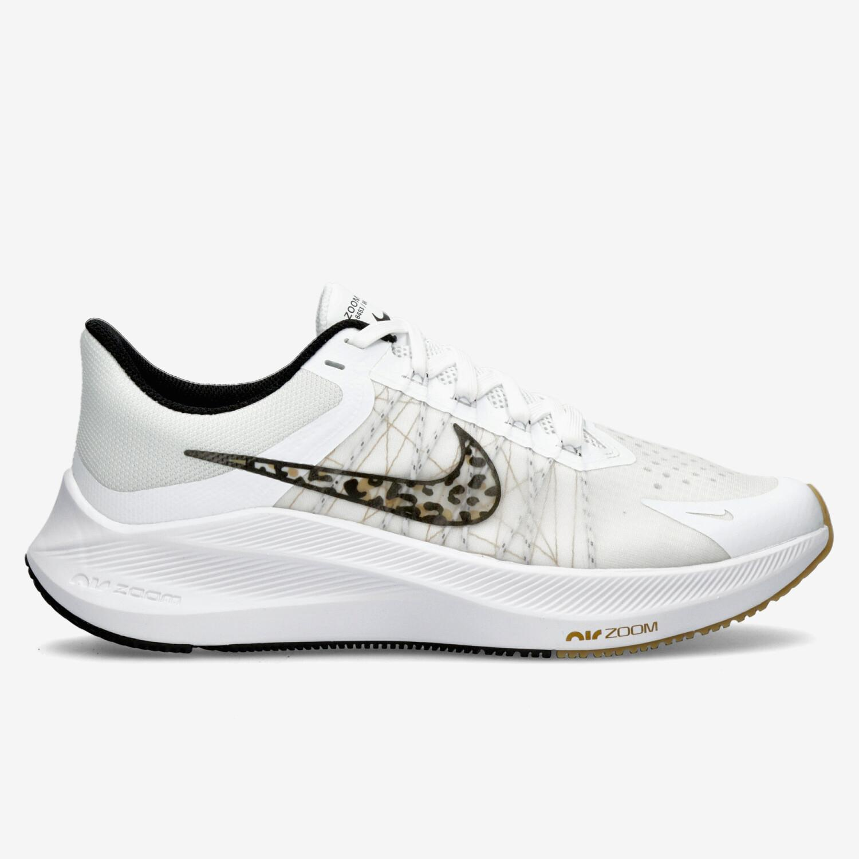 Nike Winflo 8 Premium - Blancas - Zapatillas Running Mujer