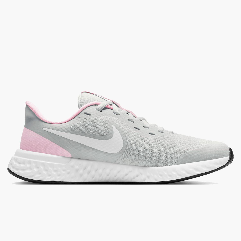 Nike Revolution 5 - Gris - Zapatillas Running Chica