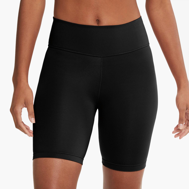 Nike Swoosh - Negro - Mallas Running Mujer
