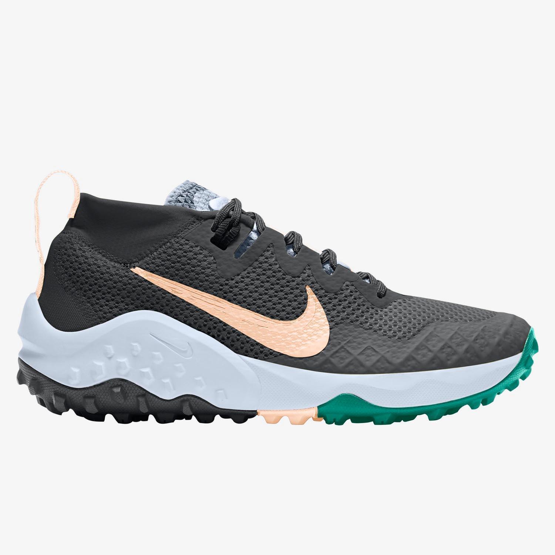 Nike Wildhorse 7 - Gris - Zapatillas Trail Mujer