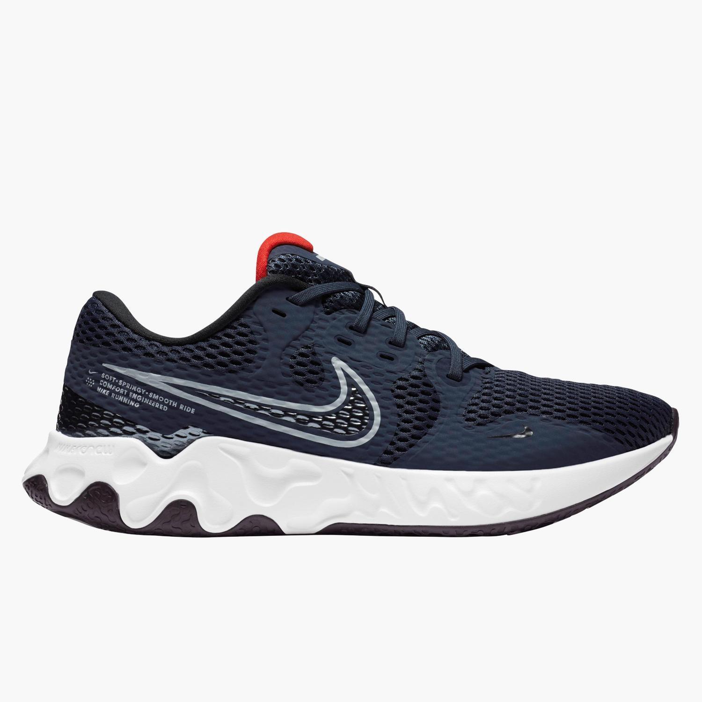 Nike Renew Ride 2 - Marino - Zapatillas Running Hombre