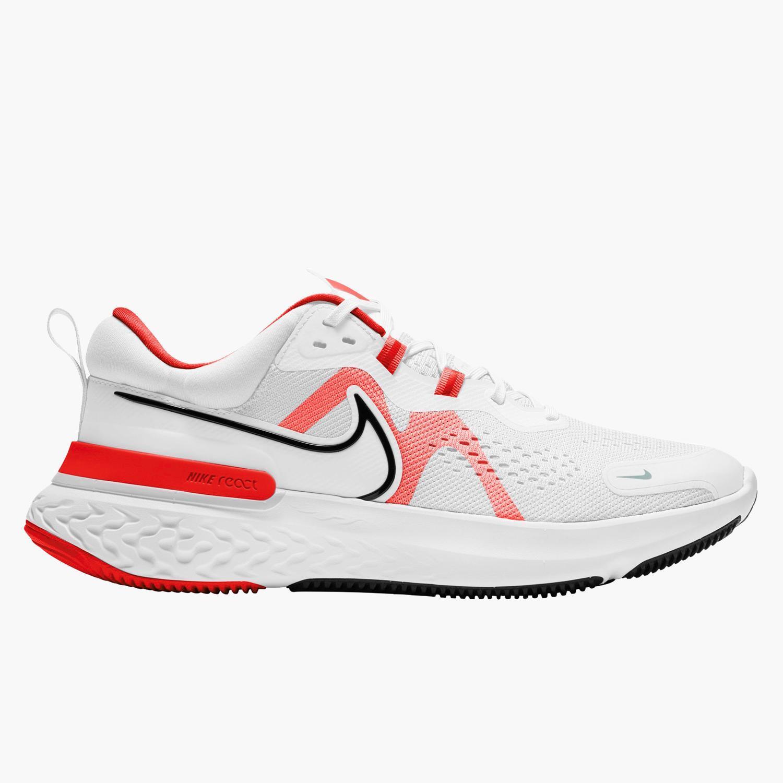 Nike React Miler 2 - Blancas - Zapatillas Running Hombre