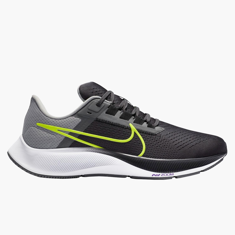 Nike Air Zoom Pegasus 38 - Gris - Zapatillas Running Hombre