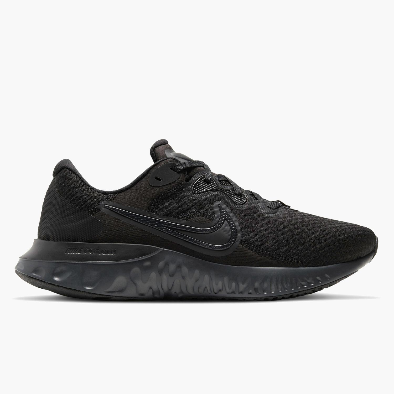 Nike Renew Run 2 - Negras - Zapatillas Running Hombre