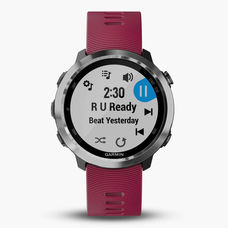Garmin Forerunner 645 Music - Granate - Reloj Deportivo