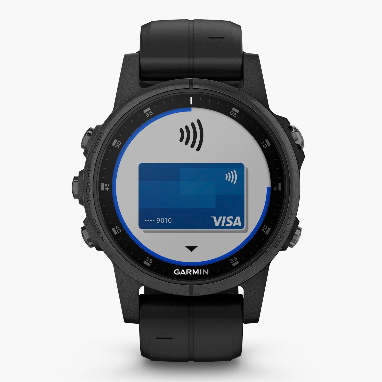 Garmin Fenix 5S Plus Zafiro - Negro - Reloj Deportivo