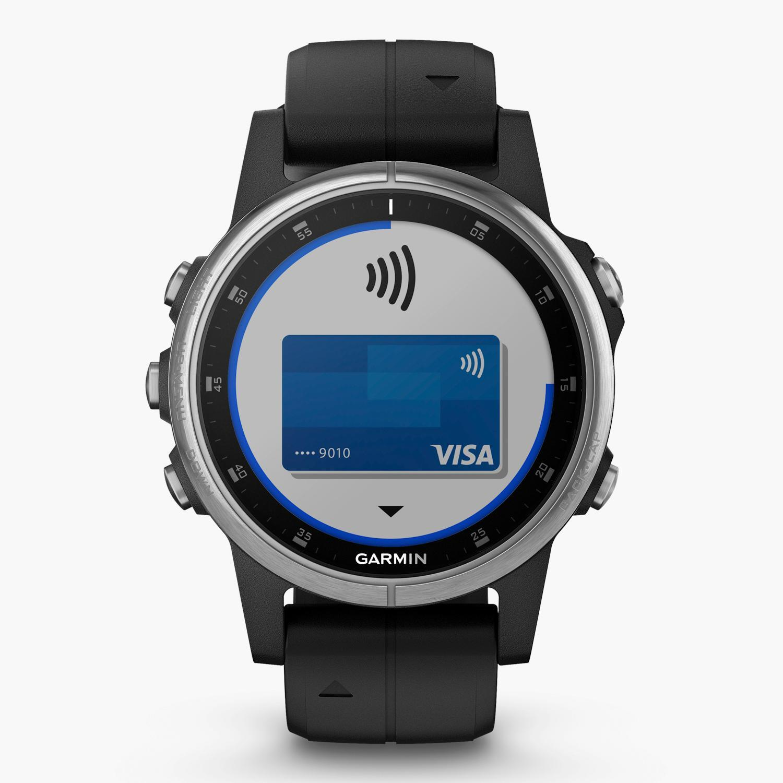 Garmin Fenix 5S Plus Zafiro - Negro- Reloj Deportivo