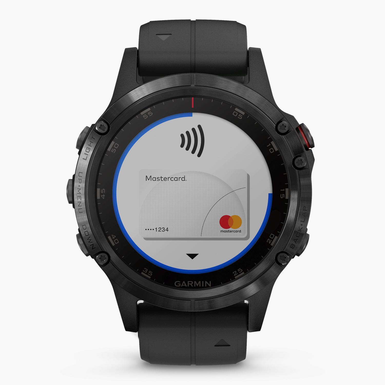 Garmin Fenix 5 Plus Zafiro - Negro - Reloj Deportivo