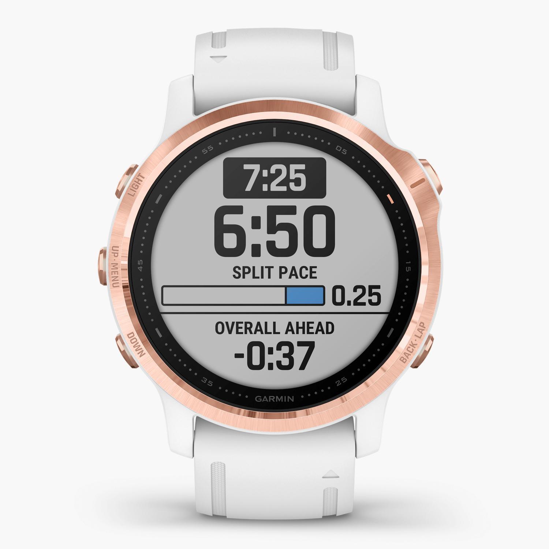 Garmin Fenix 6S Pro - Blanco - Reloj Deportivo