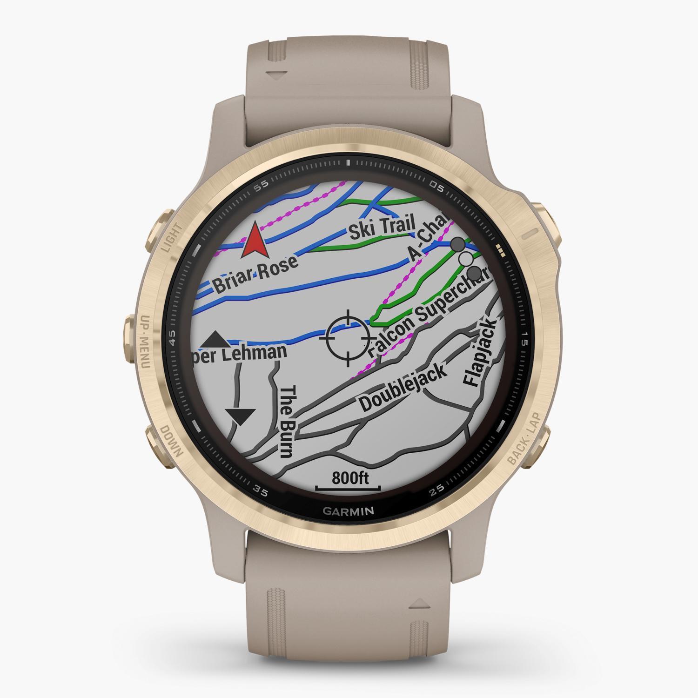 Garmin Fenix 6S Pro Solar - Beige - Reloj Deportivo