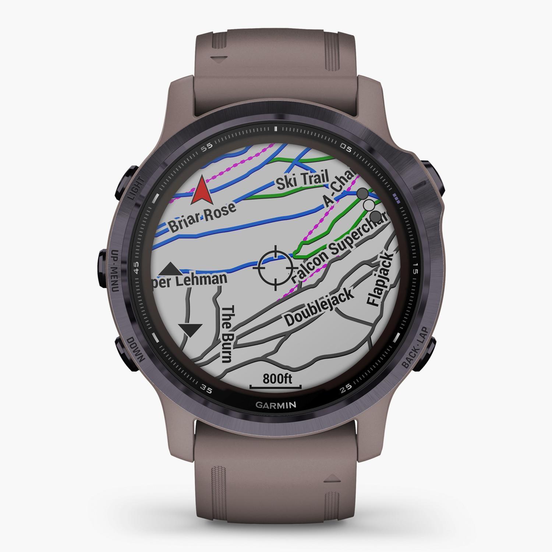 Garmin Fenix 6S Pro Solar - Gris - Reloj Deportivo