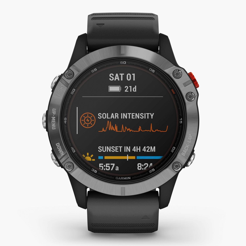 Garmin Fenix 6 Solar - Negro - Reloj Deportivo
